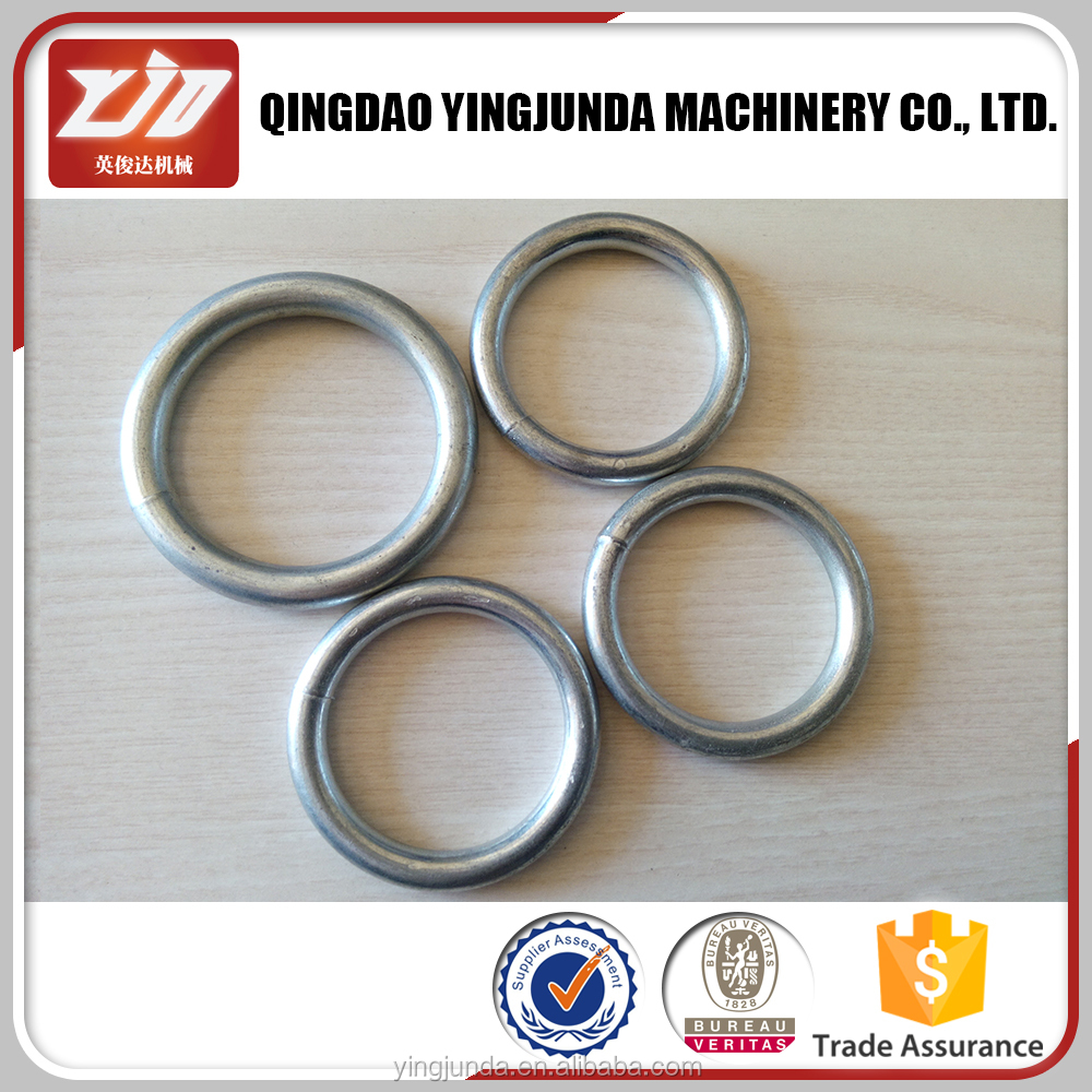 factory price metal ring stainless steel round ring for bag wholesale