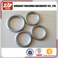 metal ring stainless steel round ring for bag wholesale