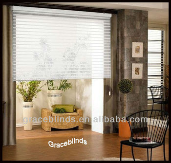 "Home decoration color coordinated 2"" louver Shangri-La Blinds"