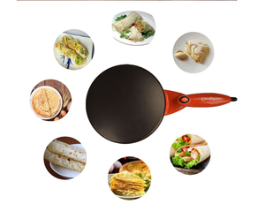 Crepe maker, non-stick coating palate with CE approved