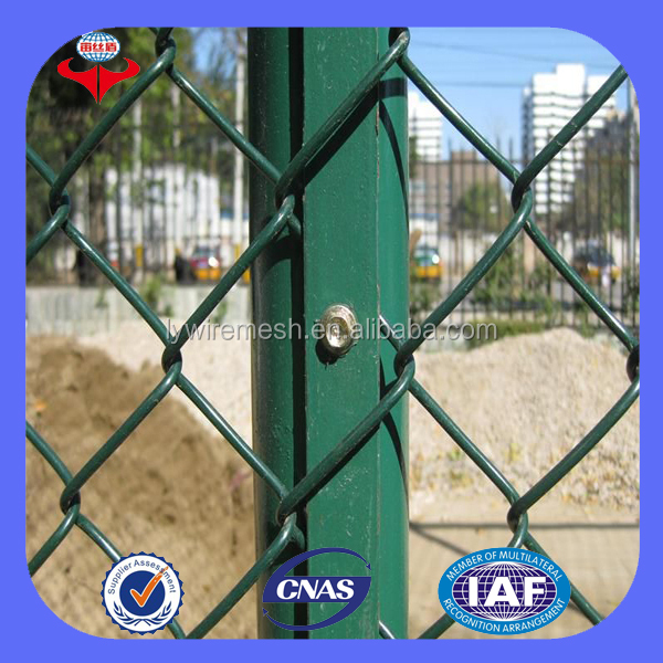 Anping cheap chain link netting/used chain link fence/chain link fence poles(ISO9001 Factory)