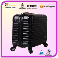 Black computer bag with 4 universal wheels/Trolley laptop case