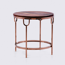 Elegant Simple Style wood top Stainless steel legs Coffee Table /End Table