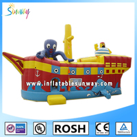 SUNWAY Cheap Inflatable Toys Air Jumping Inflatable Bouncer for Sale