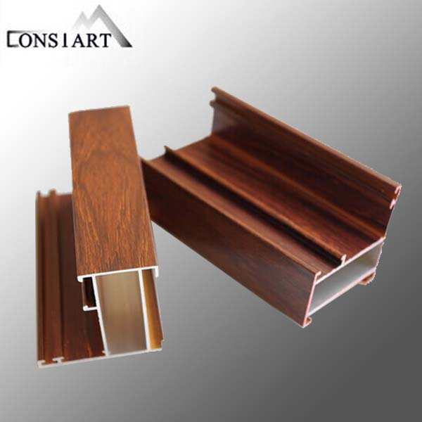 Constmart most popular aluminum profile 6063 t5 cabinet aluminum extrusion