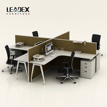 Popular exporting furniture standard dimension wooden office partition