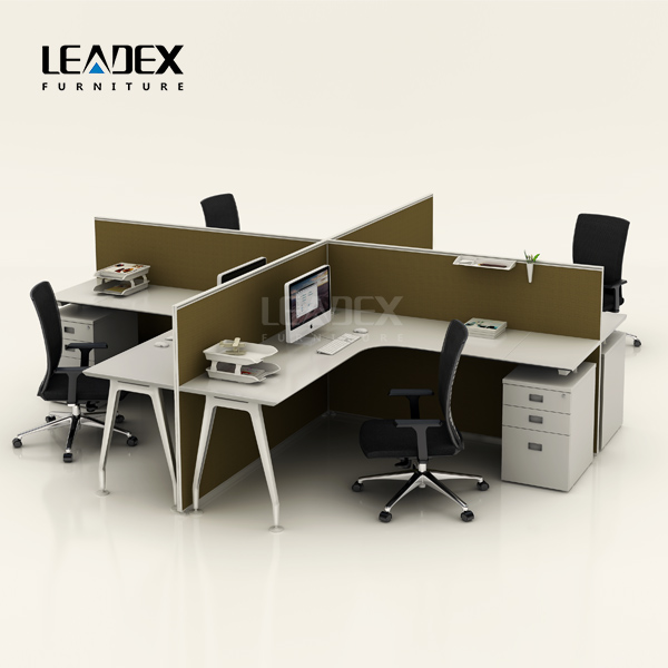 popular exporting furniture standard dimension wooden office workstation partition
