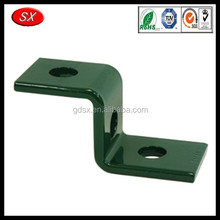 customized powder coating angle iron corner bracket z shaped bracket with three hole