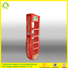 Detachable supermarket food shelf candy display shelf made of metal
