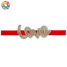 Wholesale Chrismas Headband Custom Girls Hair Accessories Elastic Funny Baby Headband With Hair