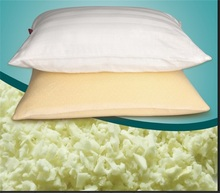 Environmentally friendly and recyclable memory scrap foam