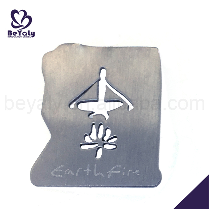 Fashion engraved cheap stainless steel jewelry initial pendants