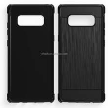 phone case Manufacture For Samsung Note 8 Top quality wire drawing TPU Material cover Note 8