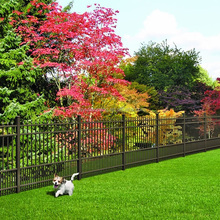 Outdoor Dog Fence Pickets Fence iron fence panels