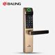 Biometric Fingerprint Password Number Keypad Swipe Card Sensor Multi Functions Intelligent Door Lock