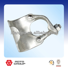 Faslework drop forged putlog coupler and stamping swivel scaffolding clamp