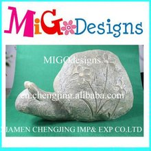 new wholesale magnesia snail for garden decoration
