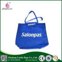 Top selling super quality eco-friendly handle promotional foldable shopping bag