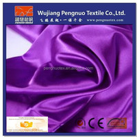 spandex satin fabric for mature women in skirts/lady dress fabric
