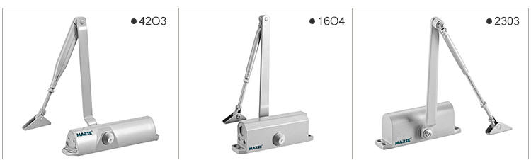 heavy duty hydraulic automatic adjustable smooth closing door closer