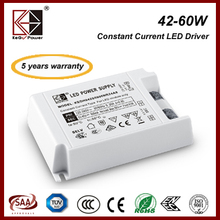 high quality good price indoor led driver 50W 1200mA with ENEC, CE, SAA certificate