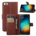 Hot selling leather case for Xiaomi Mi 4i Leather Mobile phone flip cover case for Xiaomi Mi 4i