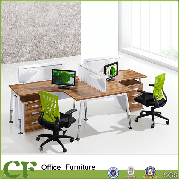 Hot Selling Modern Modular Economical 4 Person Staff Office Workstation for Office Desk