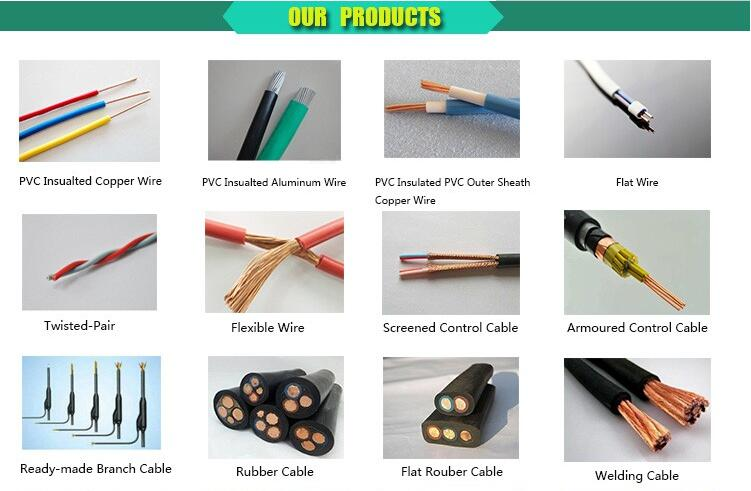 2017 Factory Price 0.6/1kv 1, 2, 3, 4, 5, 3+1, 3+2, 4+1Cores Copper Conductor Stranded XLPE Insulation PVC Sheathed Steel Wire A