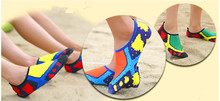 colorful design sports shoes waterproof neoprene beach swim shoes