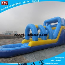 2015 inflatable game toys used playground slides for sale, inflatable slides with pool for sale