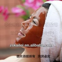 cocoa collagen chocolate face mask