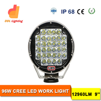 "DDL Style 9 inch led works lighting for LED Driving lamp ATV SUV 4x4 l led off road driving lights led work light 9"" worklight"