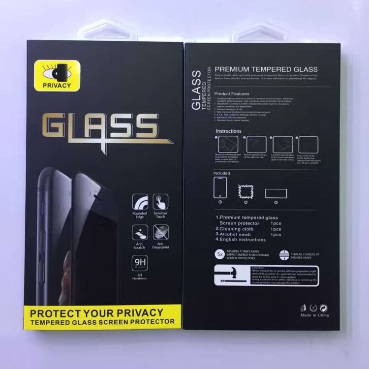 Online wholesale 9D screen protector for iphone 7/8 tempered glass