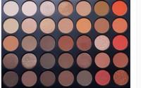 wholesale womens professional free sampel 35 matte colors make up cosmetics eye shadow