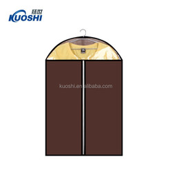 hot sale plastic garment bag with pockets