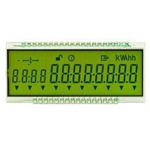 Digit screen segment display LCD module