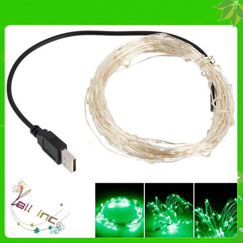 USB Outdoor LED Christmas String Light Without Fixed Shape