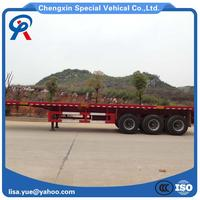 40 Ft Tri Axle Flatbed Container