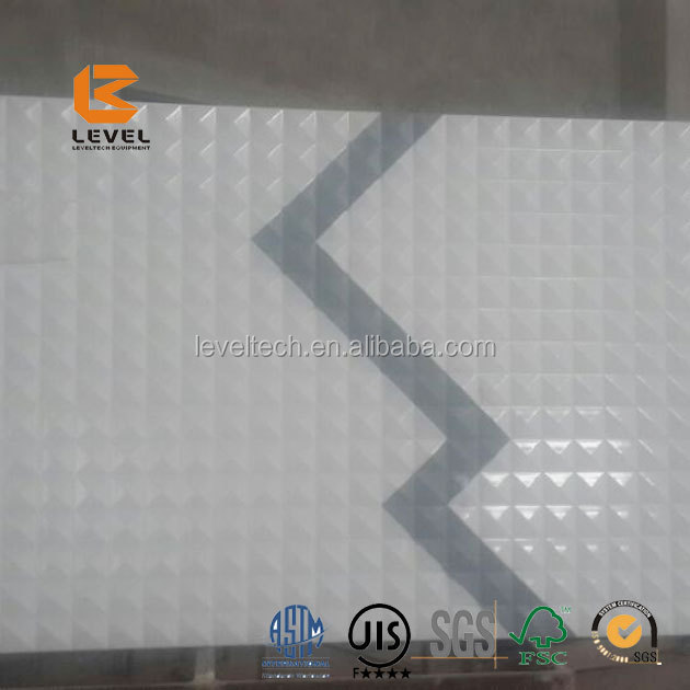 Wholesale Aluminum Noise Reduction Perforated Carving Panel Noise Reduction Panels 3D MDF Board For Fence