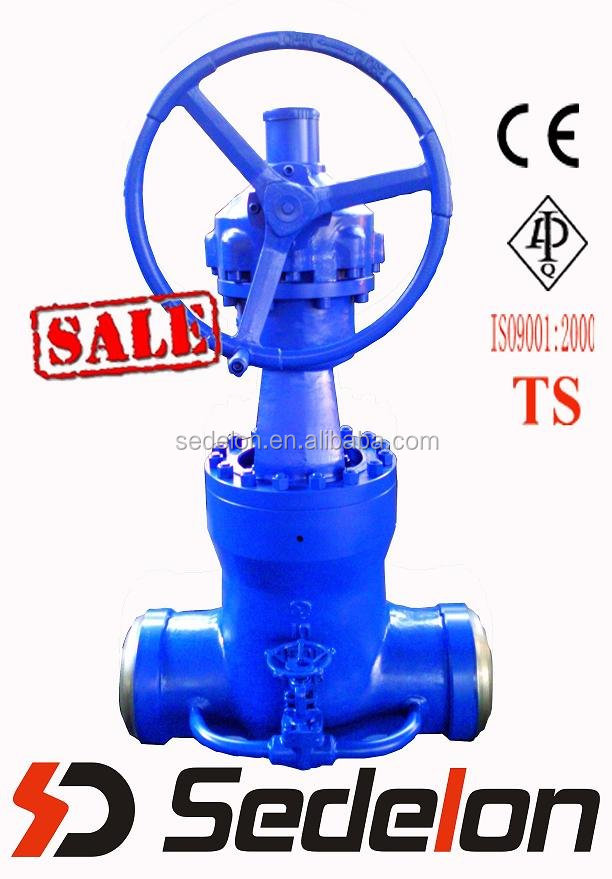 API6D Carbon Steel Self Sealing Gate Valve