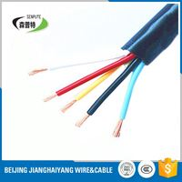fire resistant flat electrical power rvv wire cable