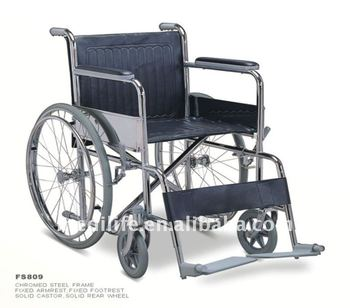 steel folding toilet wheelchair Steel Wheelchair stainless steel wheelchairs