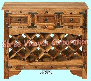 Bar meubles bouteille de vin rack commercial meubles for Meuble commercial