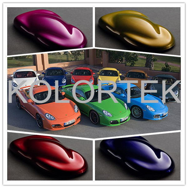 Best selling candy color vehicle paint powder for car coating, pearl pigment powder for car painting