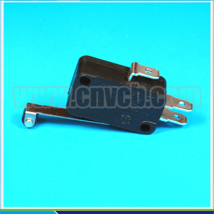 M17 KW7-2 Long Hinge Roller Lever 3 pin Micro Switch micro switch manufacturer