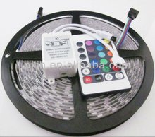 2013 newest!Super bright AC110/240/220V LED strip 1440lm/w SMD5050 60 LED/M, RGB or single color,indoor/outdoor IP65 waterproof