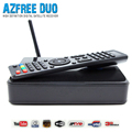 2016 new type satellite TV receiver AZFREE duo support 3G IPTV work for south America