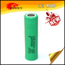 Authentic Electronic Cigarette Vision battery INR18650 25R Variable Voltage Battery,Rechargeable batteries 3.6v 2500mah
