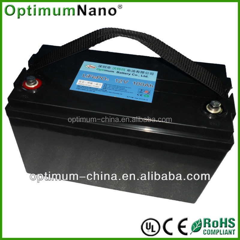 New lifepo4 12v 100 amp hour battery