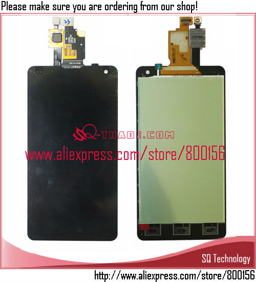 My Alibaba Express for LG Optimus G E975 LCD Display with Touch Screen Digitizer Assembly